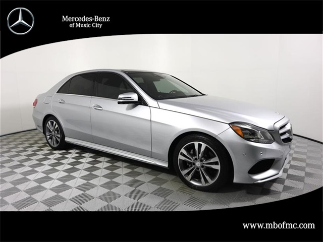 Certified Pre Owned 2016 Mercedes Benz E Class 350